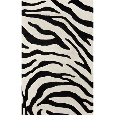 nuLOOM Earth Safari Black & Ivory Rug