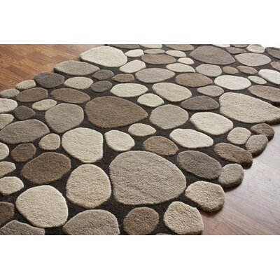 nuLOOM Pebbles Pebbles Natural Rug