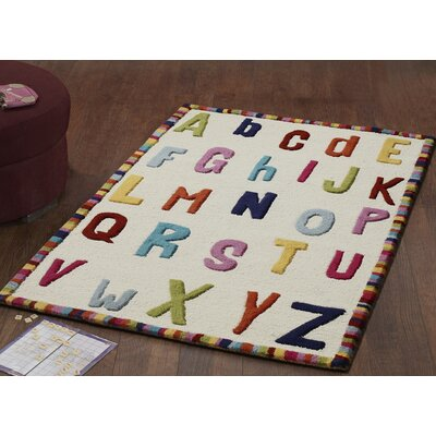 nuLOOM Kinder Educational Letters Kids Rug