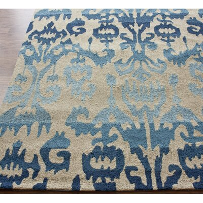nuLOOM Pop Ikat Blue Rug