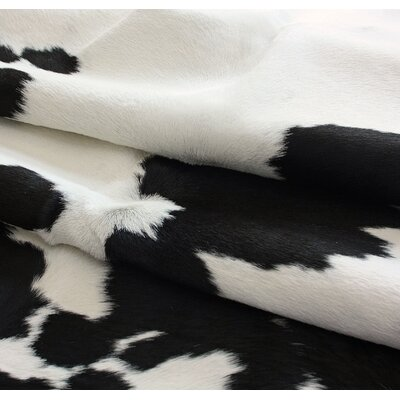 nuLOOM Cowhide Black/White Rug