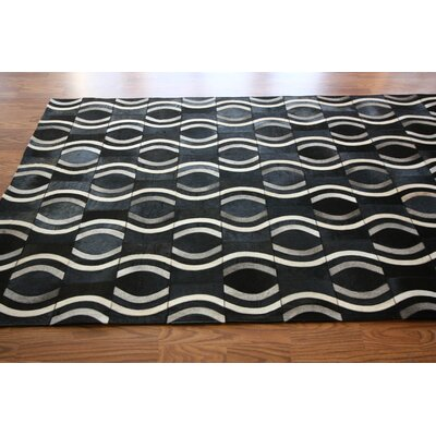 nuLOOM Hudson Pop Black Rug