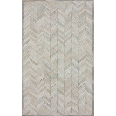 Hudson Chevron 1 Natural Rug
