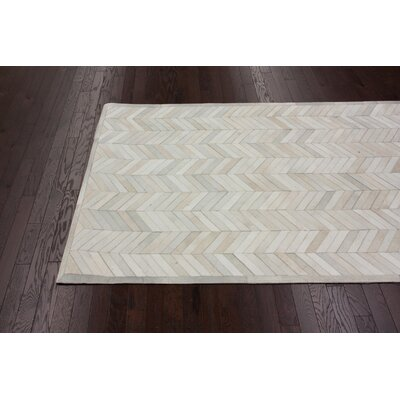 nuLOOM Hudson Chevron 1 Natural Rug