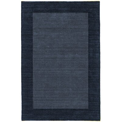 nuLOOM Bella Solid Border Denim Rug