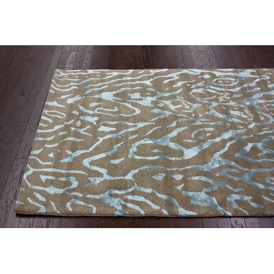 nuLOOM Bella Montara Zebra Print Sky Rug
