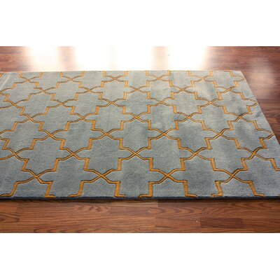nuLOOM Bella Marrakesh Moroccan Trellis Smoky Grey Rug