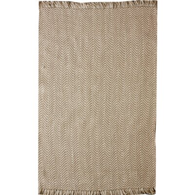 nuLOOM Natura Boucle Printed Natural Rug