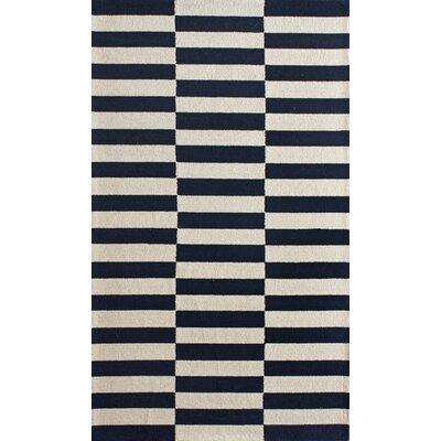 Chelsea Blocks Navy Rug