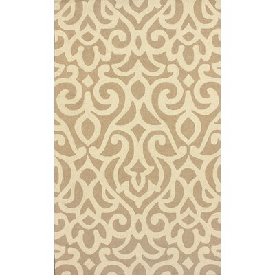 nuLOOM Chelsea Atlantic Damask Tan Rug
