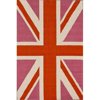 nuLOOM Cine England Bubble Gum Novelty Rug