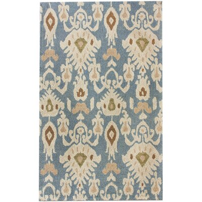 nuLOOM Marbella Faded Antique Light Blue Rug