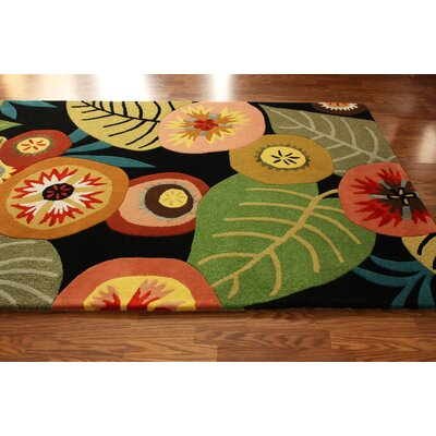 nuLOOM Modella Green House Multi-Colored Rug