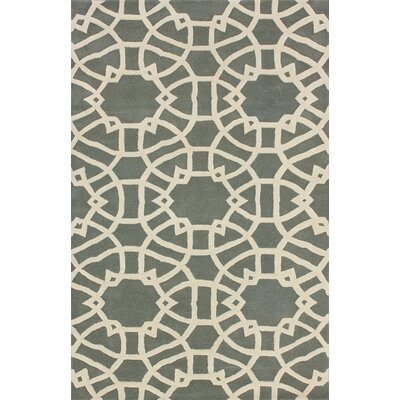 nuLOOM Marbella lattice Grey Rug