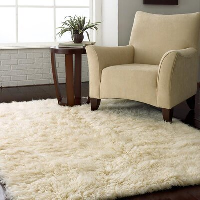 nuLOOM Flokati Natural Kids Rug