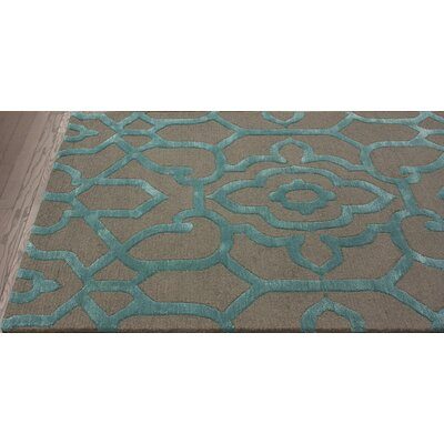 nuLOOM Fancy Charcoal Ornate Trellis Rug