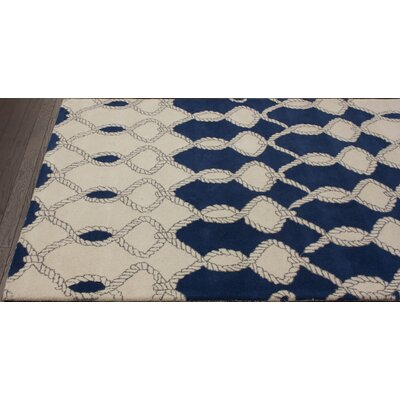 nuLOOM Fancy Navy Nexus Rug