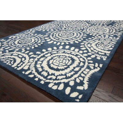 nuLOOM Fancy French Blue Blaze Rug