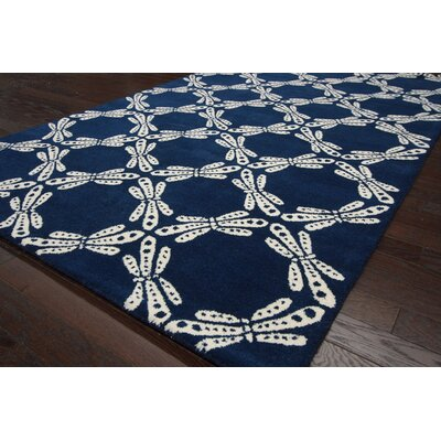 nuLOOM Fancy Navy Dorna Rug