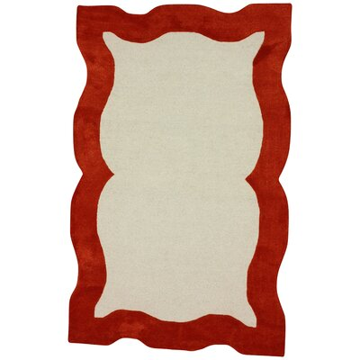 Fancy Orange Nanda Rug