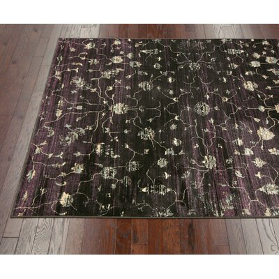 nuLOOM Flux Shag Midnight Open Field Rug