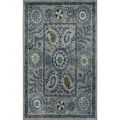 nuLOOM Meridian Light Blue Katya Rug