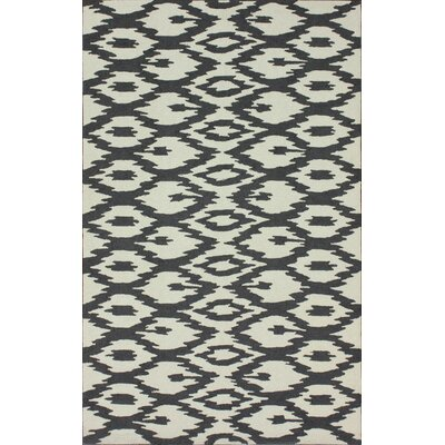 nuLOOM Pop Soft Grey Ikat Rug