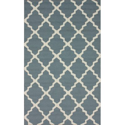 Homestead Light Blue Lannah Trellis Rug