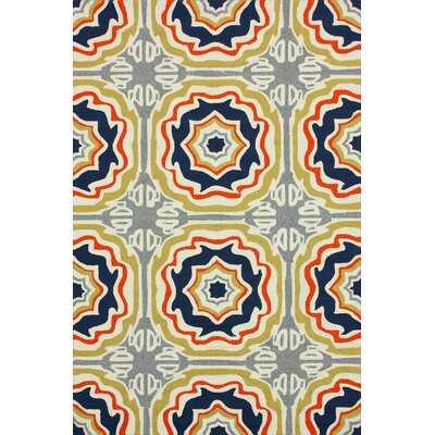 nuLOOM Homestead Multi Spanish Tiles Outdoor Trellis Rug