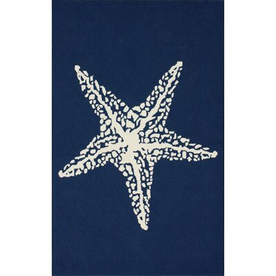 Homestead Blue Starfish Novelty Rug