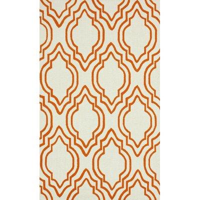 nuLOOM Trellis Orange Moderno Rug