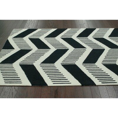 nuLOOM Trellis Black Shelly Rug