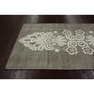 nuLOOM Overdye Natural Tribal Damask Rug