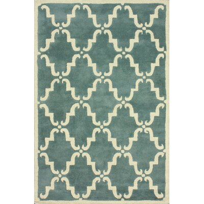 Moderna Light Blue Dahlia Rug