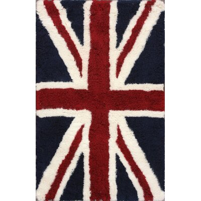 nuLOOM Moderna Blue UK Novelty Rug
