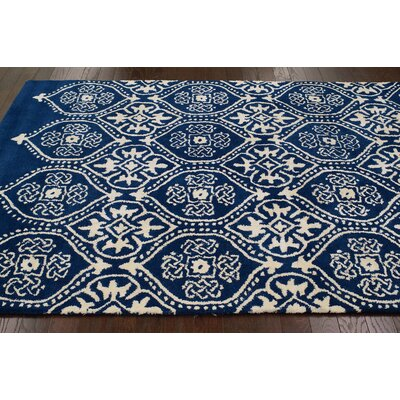nuLOOM Moderna Regal Blue Farah Rug