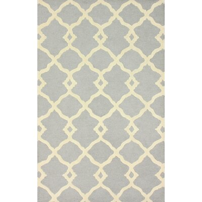 nuLOOM Moderna Light Grey Lydia Trellis Rug