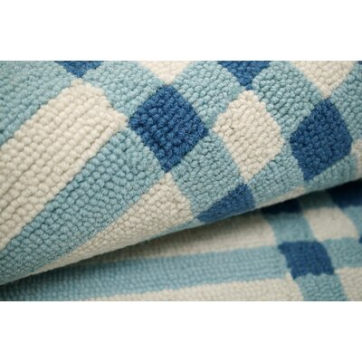 nuLOOM Trellis Blue Plaid Rug