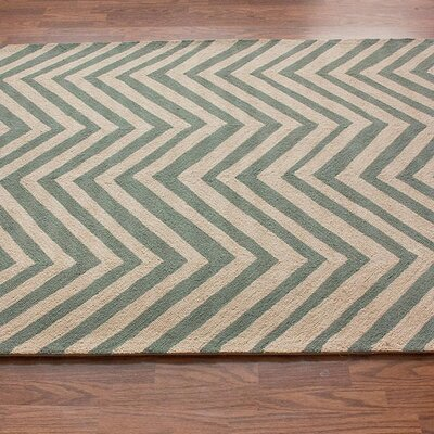nuLOOM Chelsea Chevron Light Blue Rug