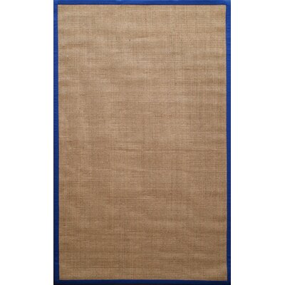 nuLOOM Natura Royal Blue Herringbone Rug