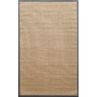 nuLOOM Natura Light Grey Herringbone Rug
