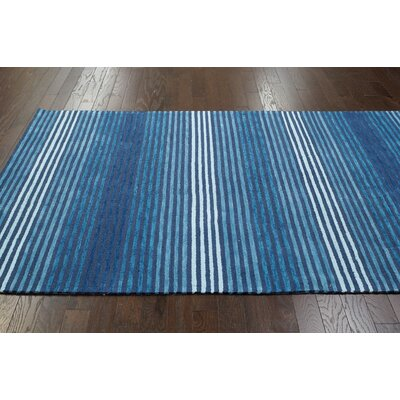 nuLOOM Brilliance Blue Jordan Rug