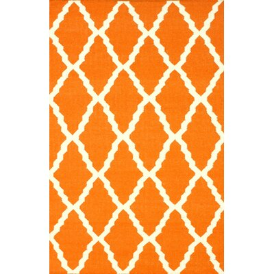 nuLOOM Moderna Orange Trellis Rug