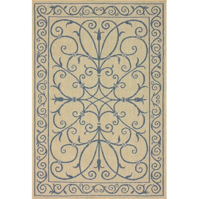 Villa Outdoor Blue Kiah Rug