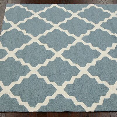 nuLOOM Homestead Light Blue Lannah Trellis Rug