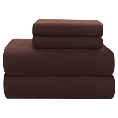 Pointehaven 4 Piece Full Flannel Sheet Set