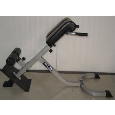 Valor Athletics Adjustable Back Extension Incline Hyperextension Bench