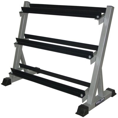 Valor Athletics BG-12 3 Tier Dumbbell Rack