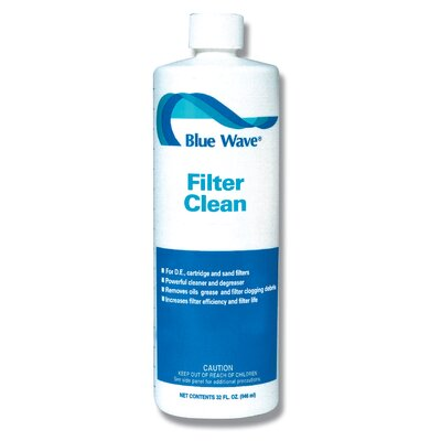 Blue Wave Products Quart Filter Cleaner (Pack of 4)