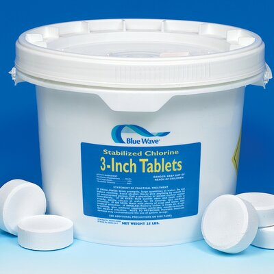 "Blue Wave Products 3"" Chlorine Tablets 50 lbs"